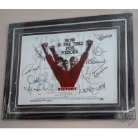 """ESCAPE to VICTORY, SIGNED & FRAMED 16x12"""" PHOTO by 9."""