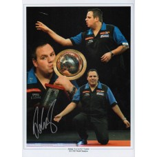 "Adrian Lewis 16x12"" Montage photograph hand signed by Adrian Lewis"