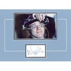 "A Clockwork Orange signed 12x16"" double matted display, signed Malcolm McDowell"