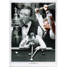 """Dennis Taylor 16x12"""" hand signed montage photograph"""