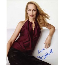"Jerry Hall 10x8"" hand signed colour photograph."