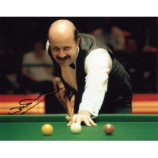 """Willie Thorne hand signed 10x8"""" colour photograph."""